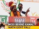 """Video : """"PM Modi Had Important Role In Overthrowing Kamal Nath"""": BJP Leader"""