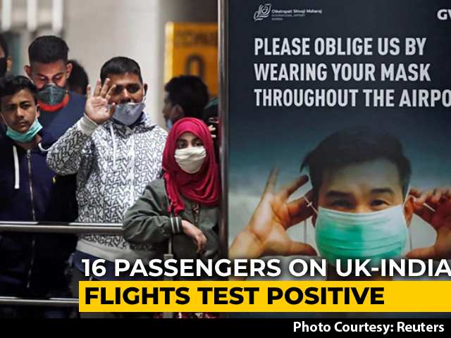 Video : 16 On UK-India Flights Covid Positive, Samples Sent For Advanced Test
