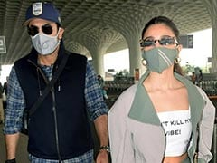 Alia Bhatt And Ranbir Kapoor Spotted Together At Airport, Reportedly En Route Goa. See Trending Pics