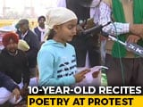 Video : 10-Year-Old Recites Poetry At Tikri Border Protest