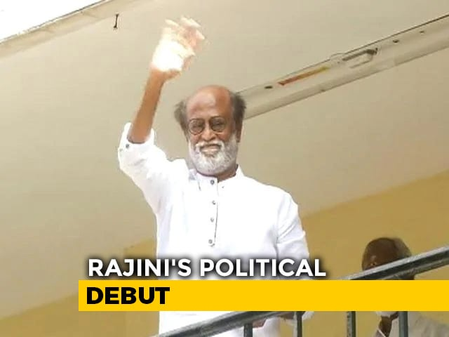 "Video : Rajinikanth To Launch Party In January, Promises ""Wonder and Miracle"""