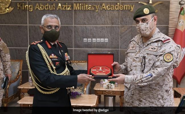 General MM Naravane's Saudi Visit Will Boost Defence Ties: Army