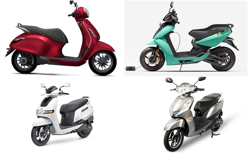 25,735 units of electric two-wheelers were sold in 2020.