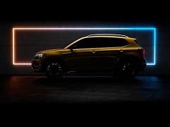 Volkswagen Taigun Teased Ahead Of Launch