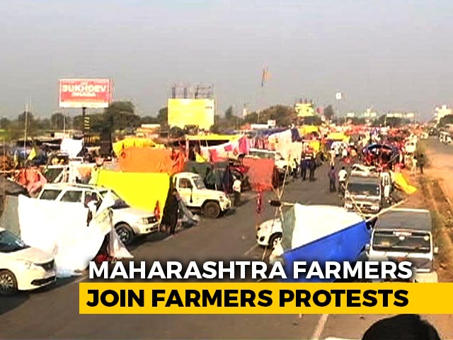 Video : Maharashtra Farmers Travel Over 1,000 Km To Join Protests