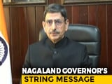 "Video : ""Only One National Flag In India"": Governor On Naga Group's 'Flag' Demand"
