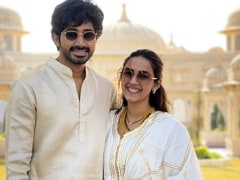 A Pic Of Newlyweds Niharika Konidela And Chaitanya JV After Grand Wedding In Udaipur