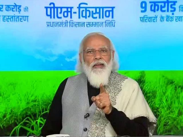 Video : Bengal Not Letting Central Benefits Reach Farmers, Says PM