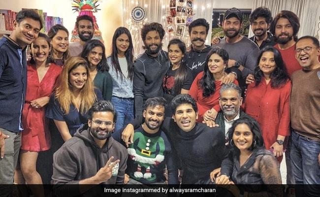 Here's How Ram Charan, Allu Arjun And Niharika Konidela Celebrated Christmas With Family