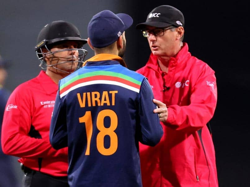 India vs Australia, 3rd T20I: Virat Kohli Unhappy After DRS Appeal Is Not Allowed