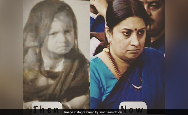 Smriti Irani's 'Don't Angry Me Look'. Check It Out Here