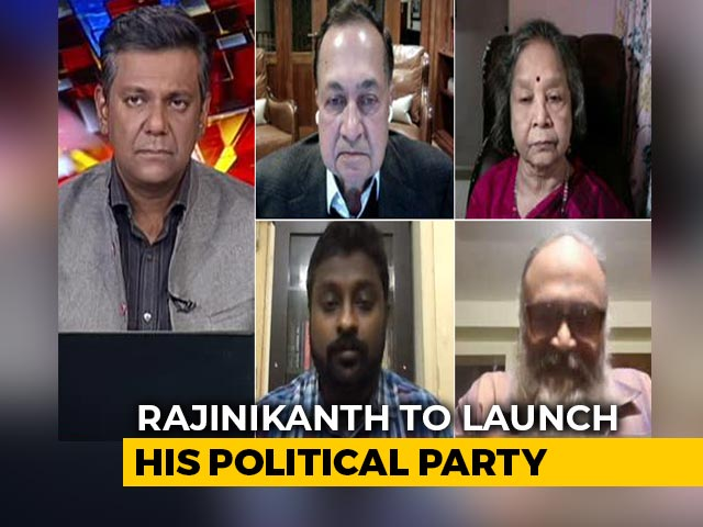 Video : Will Rajinikanth's Political Debut Be A Decider In Tamil Nadu Elections?