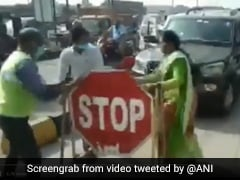Caught On Camera: Jagan Reddy's Party Leader Slaps Toll Booth Worker