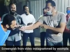 Salman Khan ने सेलिब्रेट किया बॉडीगार्ड का जन्मदिन, केक मिलते ही किया ऐसा- देखें Video
