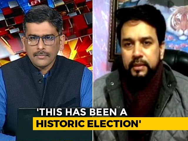 Video : Anurag Thakur On Kashmir's First Election After Loss of Special Status