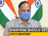 Video : Covid Vaccine Should Be Given To Everyone: Delhi Differs With Centre