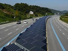 South Korea Gets New Solar Panel Covered Bike Lane