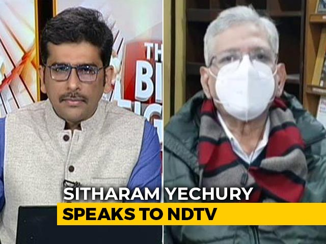 "Video : ""Must Withdraw Farm Bills For Sake Of Indian Agriculture"": Sitaram Yechury to NDTV"