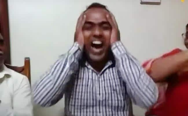 Watch: Indian Teacher's Priceless Reaction After Winning $1 Million