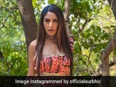टीवी की इच्छाधारी नागिन Surbhi Chandna ने पंजाबी सॉन्ग पर टीम के साथ किया डांस, देखें Video