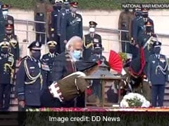 """PM Lights """"Victory Torch"""" In Tribute To Heroes Of 1971 India-Pakistan War"""