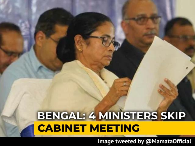 Video : 4 Missing At Mamata Banerjee's Cabinet Meet, All Eyes On Forest Minister