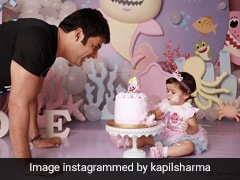 Kapil Sharma's Daughter Turns One, Family Celebrates With Cutest Cake Possible! (Pics Inside)