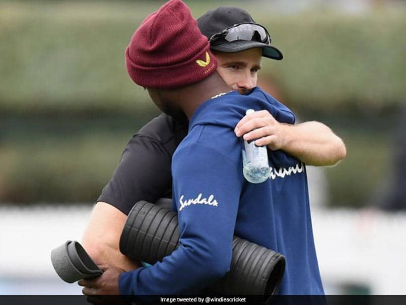 Kane Williamson Makes Heartfelt Gesture For Kemar Roach, Who Lost His Father Recently