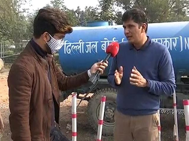 "Video : ""BJP Obsessed With Shaheen Bagh"": AAP's Saurabh Bhardwaj Amid Farmers' Protest"