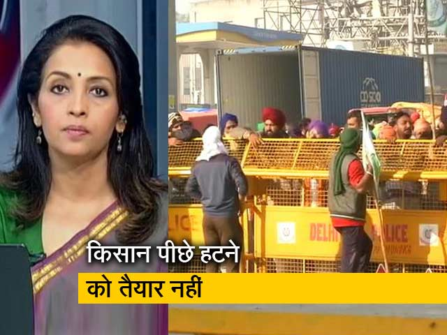 Video : देस की बात: दिल्ली की सीमा को कई जगह सील किया गया