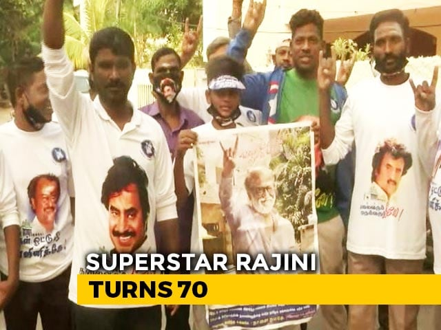 Rajinikanth Turns 70 Ahead Of Party Launch