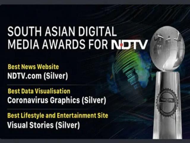 Video : NDTV Wins Big In South Asian Digital Media Awards 2020