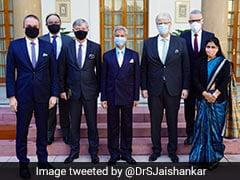 S Jaishankar Meets Envoys Of Visegrad Group, Discusses India-EU Relations