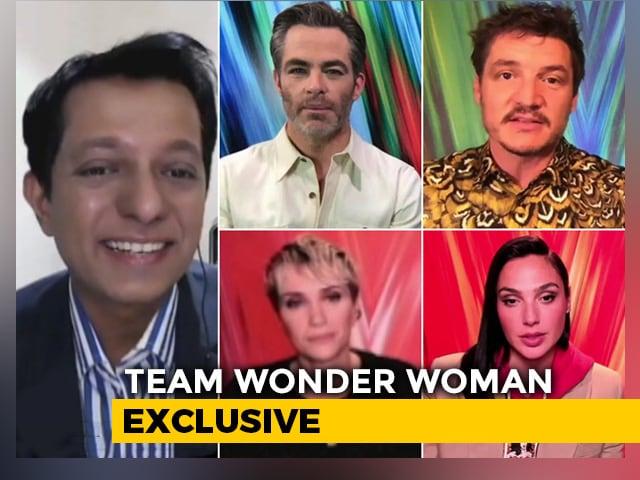 Team 'Wonder Woman' On NDTV