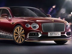 Bentley's Flying Spur Reindeer Eight Is Santa's New Chariot This Christmas