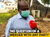 Video : BJP Treats Me With More Respect Than Congress: HD Kumaraswamy To NDTV