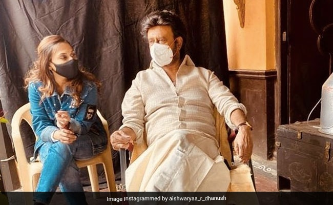 Rajinikanth Is Back At Work; Aishwarya Posts An Adorable 'Father-Daughter Moment'
