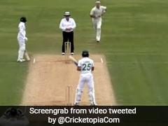 NZ Vs Pak: अजीबोगरीब तरह से बल्लेबाजी करता दिखा पाकिस्तानी बल्लेबाज, ऐसे ठोक डाला शतक - देखें Video
