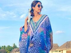 हिना खान का मालदीव में दिखा ग्लैमरस स्टाइल, Photos में यूं पोज देती नजर आईं एक्ट्रेस