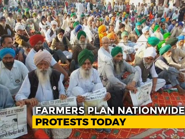 Video : Farmers To Go On Hunger Strike Today As Protests Escalate