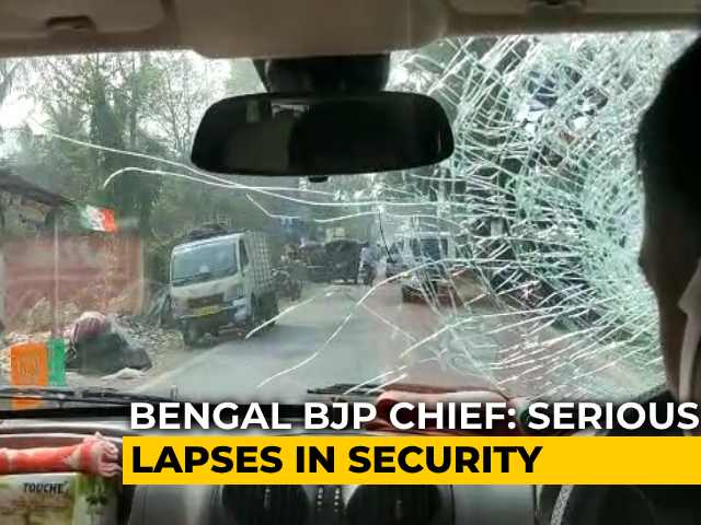 Video : Amit Shah Orders Probe Into Attack On BJP Chief's Convoy In Bengal