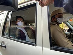 AAP's Raghav Chadha, Others Detained; Protest At Amit Shah's Home Denied