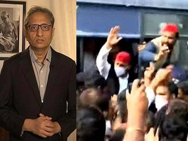 Video : Watch: Ravish Kumar Analyses Farmer Protests, Centre's Claims