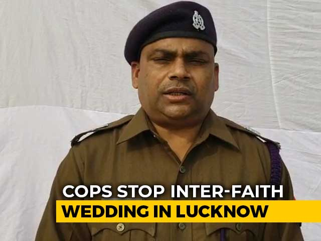Video : UP Cops Stop Inter-Faith Wedding, Week After New Anti-Conversion Law