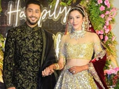 Viral: Pics And Videos From Gauahar Khan And Zaid Darbar's Wedding Reception