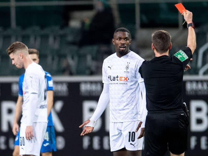 Borussia Monchengladbach Striker Marcus Thuram Gets Six Match Ban For Spitting At Opponent