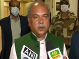 """Video : """"Centre Has No Ego"""", Says Agriculture Minister After 7-Hour Meet With Farmers"""