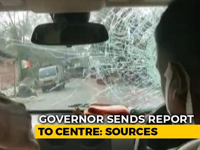 Video : Bengal Governor Sends Report To Centre On Attack On BJP Chief's Convoy