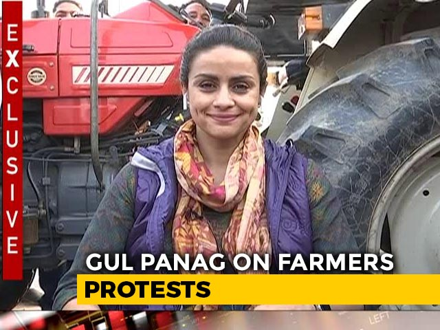 "Video : ""Farm Laws Passed In Stealth"": Gul Panag Backs Farmers' Protest"