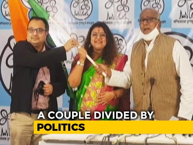 "Video : ""Relationship Over"": BJP MP Says Will Divorce Wife Who Joined Trinamool"